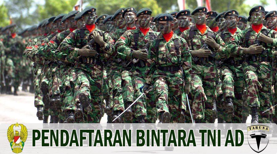 Syarat Pendaftaran Bintara TNI AD dan Tata Cara Pendaftaran