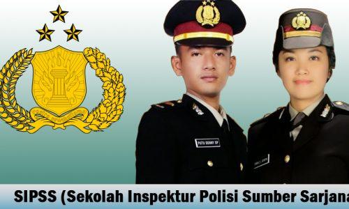 Syarat Pendaftaran SIPSS (Sekolah Inspektur Polisi Sumber Sarjana)