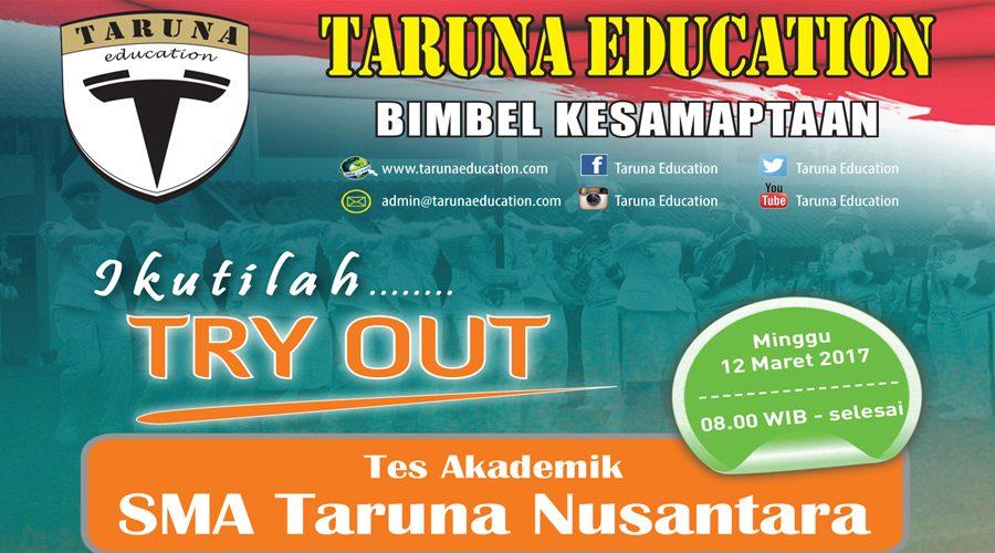 Try Out dan Pendalaman Materi Seleksi Masuk SMA Taruna Nusantara