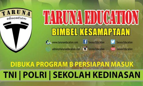 Bimbel TNI Polri dan Sekolah Kedinasan Program Eksekutif