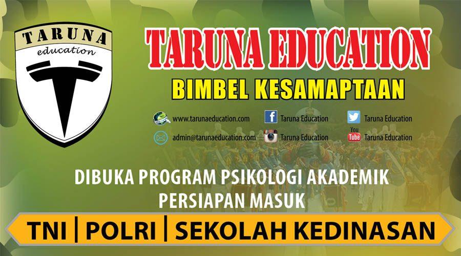 Bimbel TNI Polri dan Sekolah Kedinasan Program Psikologi dan Akademik