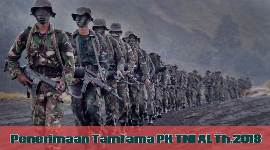 Jadwal Seleksi Penerimaan Tamtama TNI AL Tahun 2018 dan Materi Seleksi