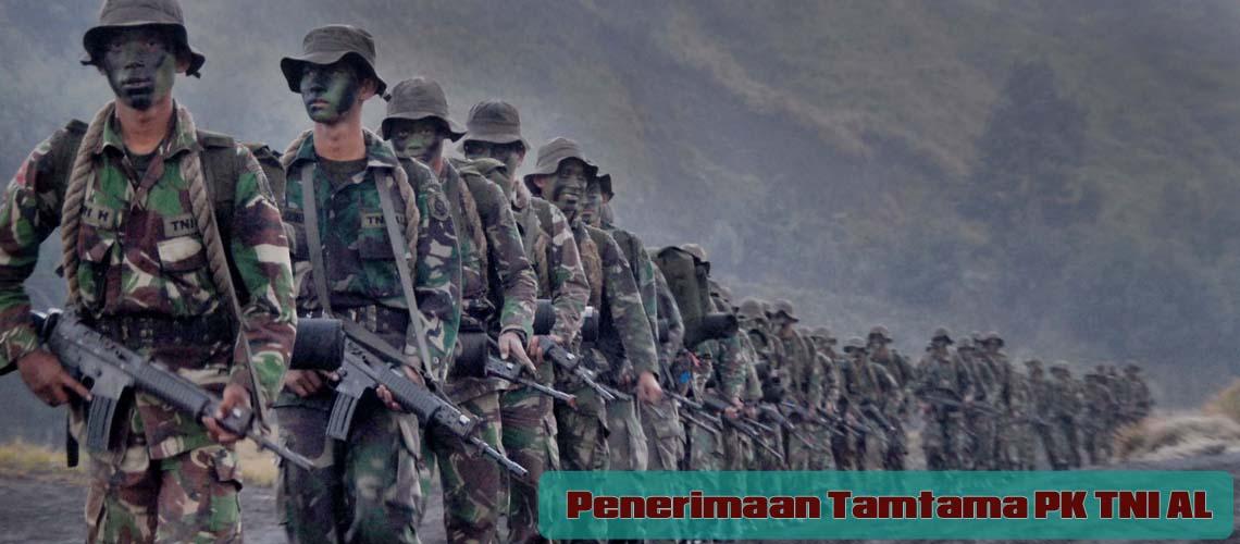 Pendaftaran Tamtama PK TNI AL Tahun 2018