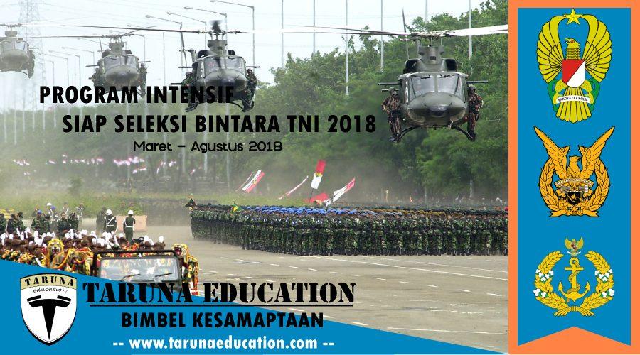 Program Intensif siap seleksi Bintara TNI 2018