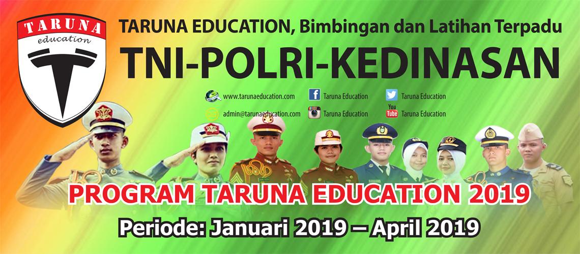 Program Januari Persiapan Seleksi TNI Polri & Kedinasan 2019